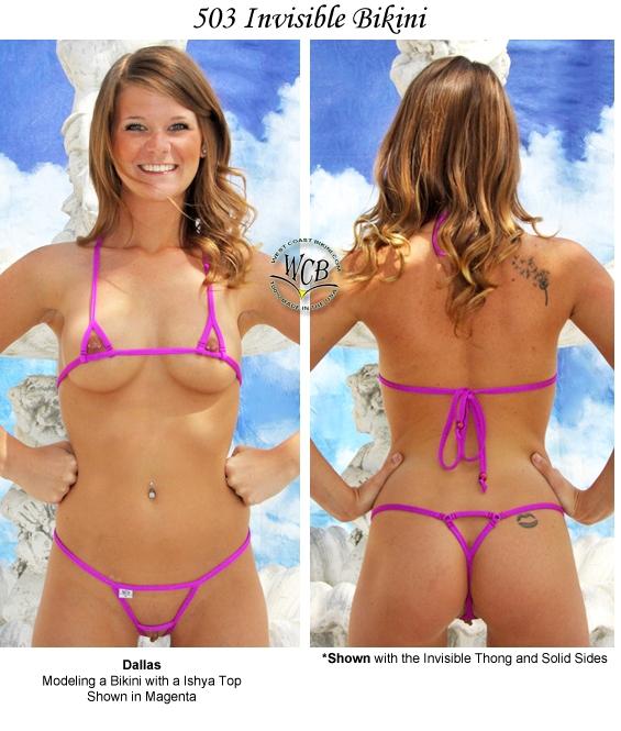 pictures Invisible bikini