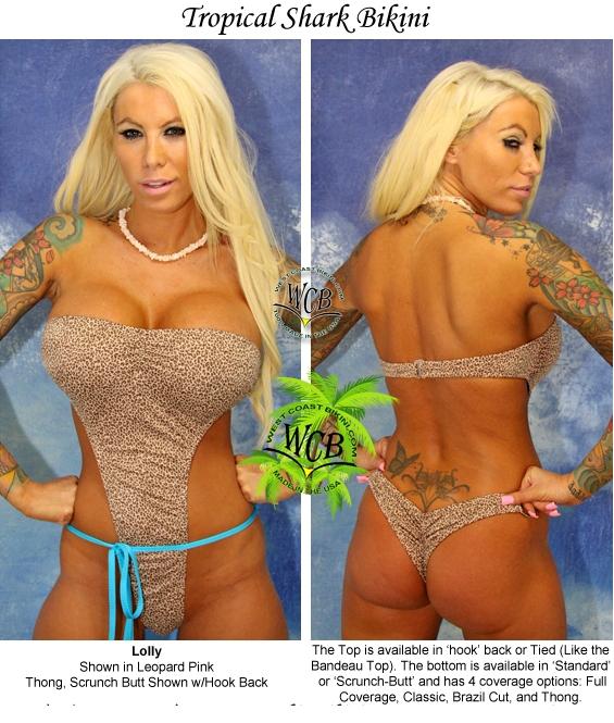Full coverage scrunch bikini bottoms